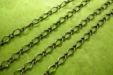 5 feet 6x4mm gunmetal mother and son chain-420A