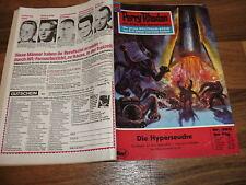 PERRY RHODAN  # 395 -- die HYPERSEUCHE / 1. Aufl. 1969 + Reklame Gucky-Figur