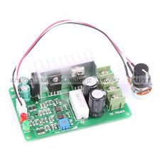 DC Motor Speed Control PWM Adjustable Current Limit 15A 12V 24V 36V