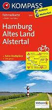 * HAMBURG -  ALTES LAND - ALSTERTAL 1 : 70 000