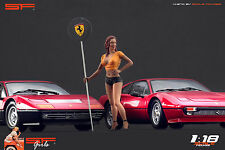 1/18 Ferrari girl figure VERY RARE !! for1:18 CMC Autoart Ferrari Exoto BBR