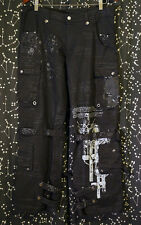 h.NAOTO h.ANARCHY for Plus RARE Bondage Punk Goth Gothic Pants Cargo Sz M/L