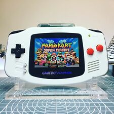 White Backlit Screen Nintendo Game Boy Advance GBA AGS-101 Backlight Console
