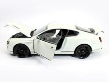 Welly 2008 Bentley Continental Coupe Supersports White 1:18 Scale**Awesome Car**