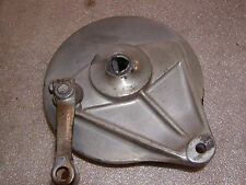 Honda CL 360G Scrambler Ankerplatte hinten rear baking plate