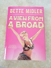 Bette Midler A View From A Broad Signed Autographed Book PSA Guaranteed