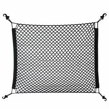 Useful 70x70cm Car Rear Cargo Elastic Mesh Net Nylon Mesh Luggage Cover Bag  New