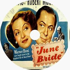 June Bride DVD Bette Davis Robert Montgomery 1948 V Rare