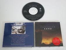 VANGELIS/1492 - CONQUEST OF PARADISE(EASTWEST 4509-91014-2) CD ALBUM