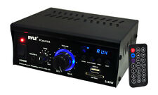 PYLE PCAU25A Pyle mini 2CH amplifier with USB