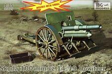 100mm Skoda VZ.14/19 (LEFH 14/19 (P)/usado por Alemania, Hungría, Polonia/1/35 Ibg