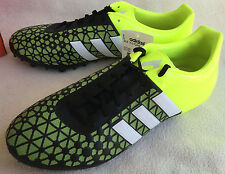 new Adidas ACE 15.3 Firm Artificial Ground B32846 Soccer Cleats Shoes Men's 10