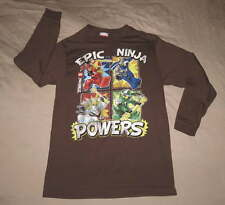 LEGO Ninjago Epic Ninja Boy's L/S SHIRT Sz XL 14/16 Powers Character Figure