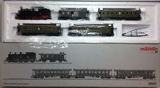 MARKLIN 26542 Württemberg Passenger Train Tank Locomotive & 4 Open Platform Cars