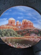 Ernst OAK CREEK CANYON Gage Taylor This Land is Our Land  Ltd Ed Plate