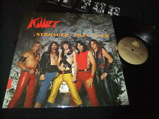 KILLER - STRONGER THAN EVER LP 1984 RARE PRIVATE METAL/RUNNING WILD/STORMWITCH