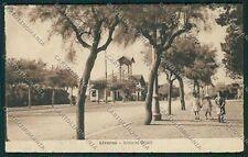 Livorno Città Ardenza cartolina QQ3717