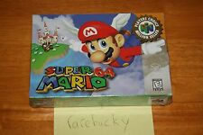 Super Mario 64 (N64 Nintendo 64) - NEW SEALED V-SEAM, NEAR-MINT, RARE CLASSIC!