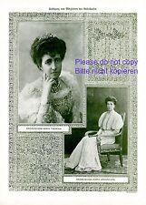 Erzherzogin Maria Annunziata Theresia von Österreich 1908 XL Fotoabb. Toskana +