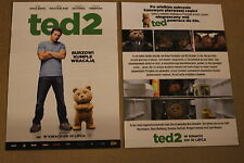 Ted 2 (2015) Mark Wahlberg, Amanda Seyfried - Polish promo FLYER