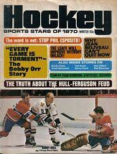 1970 Sports Stars of 1970 Hockey Magazine, Bobby Hull, Chicago Blackhawks ~ Good