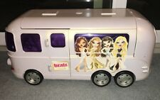 2004 BRATZ MOVIE PEARL WHITE TOUR BUS HUGE SUPER RARE(EXCELENTE USED CONDITION)