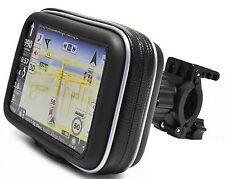 4.3 Inch GPS Sat Nav Waterproof Case w/ Mount Holder Motorcycle Motorbike Cycle