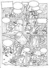 J. JORDAN SIGNED YPS & CO ORIGINAL COMIC PAGE 2 OF 3 - Das Sicherheitssystem