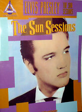 RACCOLTA SPARTITO ELVIS PRESLEY - THE SUN SESSION 17 CANZONI - 127 PAGINE