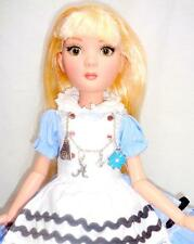 "OOAK Prudence ALICE in Wonderland 16"" Doll Tonner Ellowyne Wilde + Disney Rabbit"