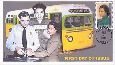 JVC CACHETS - 2013 ROSA PARKS STAMP BLACK HERITAGE HISTORY FIRST DAY COVER FDC 2