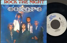 "EUROPE Rock The NIght 7"" SINGLE 2 track Seven 7 Doors Hotel 1985"