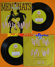 LP 45 7'' MEN WITHOUT HATS The safety dance Security 1982 england cd mc dvd