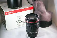 Canon EF 135mm F/2.0 L EF USM Lens