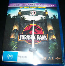 Jurassic Park 3D + Bluray (Australian) Blu-ray - New