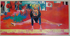 LeRoy Neiman ~ 1976 OLYMPIC FEMALE GYMNAST – FRAMED POSTER