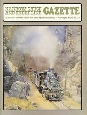 Narrow Gauge and Short Line Gazette : March April 1987 : Volume 13 Number 1
