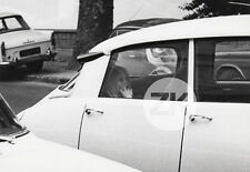 BRIGITTE BARDOT Voiture CITROEN DS Peugeot 404 Circulation Paparazzi Photo 1950s
