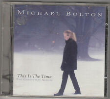 MICHAEL BOLTON - this is the time , the christmas album CD