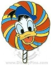 Disney Pin: WDW - Lollipops Mystery 4 Pin Tin Collection (Donald Duck)