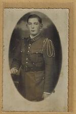 Cpa Carte Photo 4e Régiment d'Infanterie d'Auxerre Troyes Mailly m0307