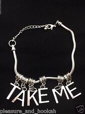 "SEXY ""TAKE ME"" Anklet! Hotwife Swinger Lifestyle Jewelry Cuckold BBC SLUT BWC 75"