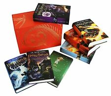 Harry Potter Box Set, Childrens Hardback Edition, Complete 7 Books Bloomsbury UK