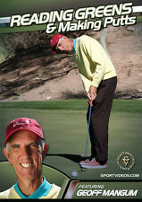 Reading Greens and Making Putts - Golf Instructional DVD - over 2 hours of tips!