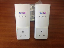 2x D-Link TalkTalk Powerline Adapters DHP-P326AV Ethernet (DHP-300AV)  HomePlug