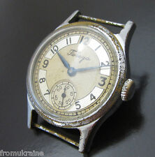 POBEDA ZIM K-26 Rare Old 3-1952 Vintage Soviet Russian Mechaniacl Wrist Watch
