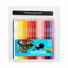 Prismacolor Scholar Colored Pencils Set - 48 (92807)Soft, smooth leads, Assorted