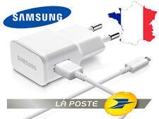 Chargeur cable secteur SAMSUNG ORIGINE Galaxy S3 S4 S5 S6 S7 A7 A5 A3 J3 J7 J5