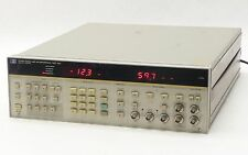 HP AGILENT 3708A MICROWAVE RADIO NOISE AND INTERFERENCE TEST SET w/OPTN 001