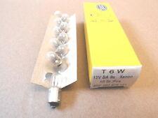 10 Stück Gluehlampe T 6 W  12 Volt  Glühbirne Birne 8GP 007 676-121